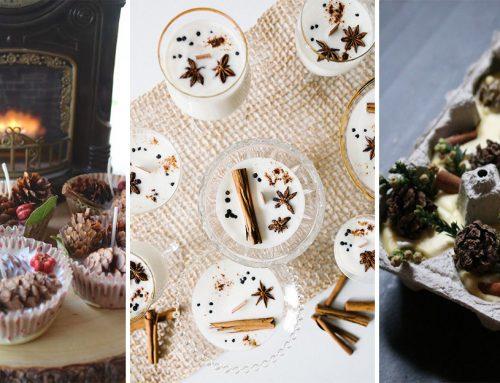 Vyrobte si jednoduché voňavé muffinkové sviečky z lesných plodov a korenia. Vyčarujú pravú jesennú atmosféru