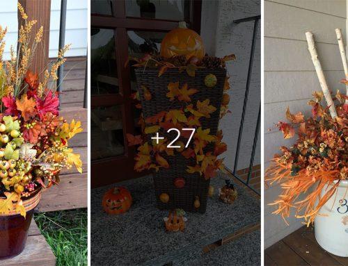 Ozdobte si vstup do domu jesennými farbami a prírodnými materiálmi. Máme pre vás čarovnú inšpiráciu